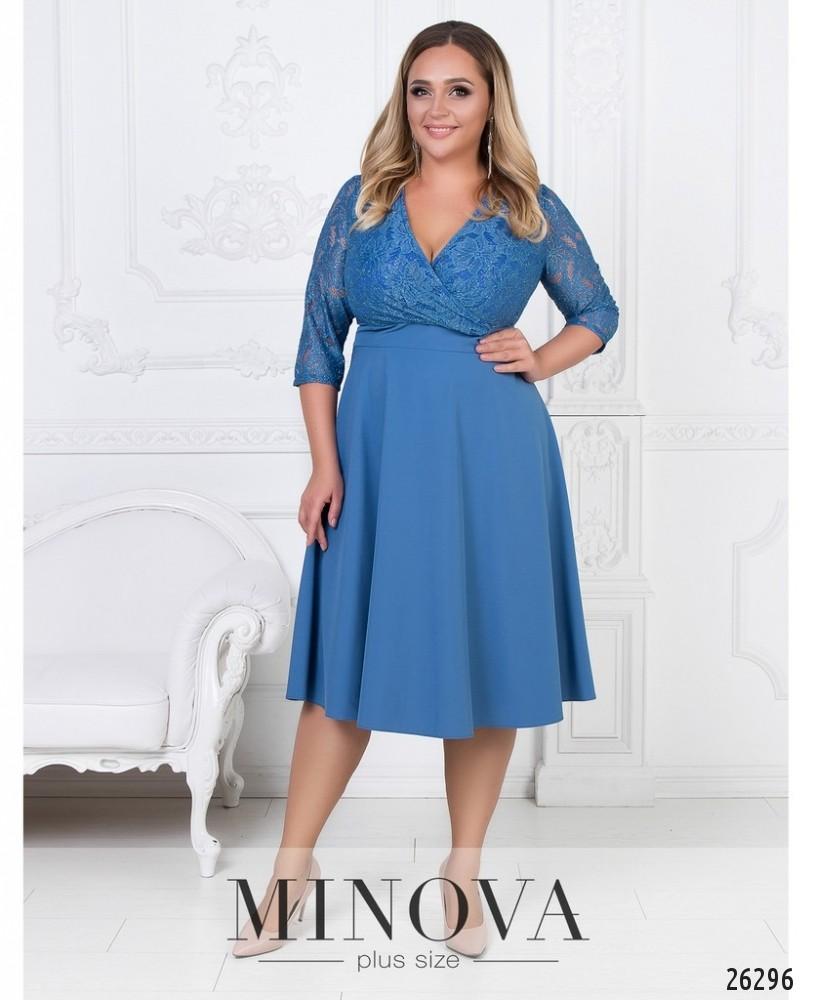 Платье №542-джинс