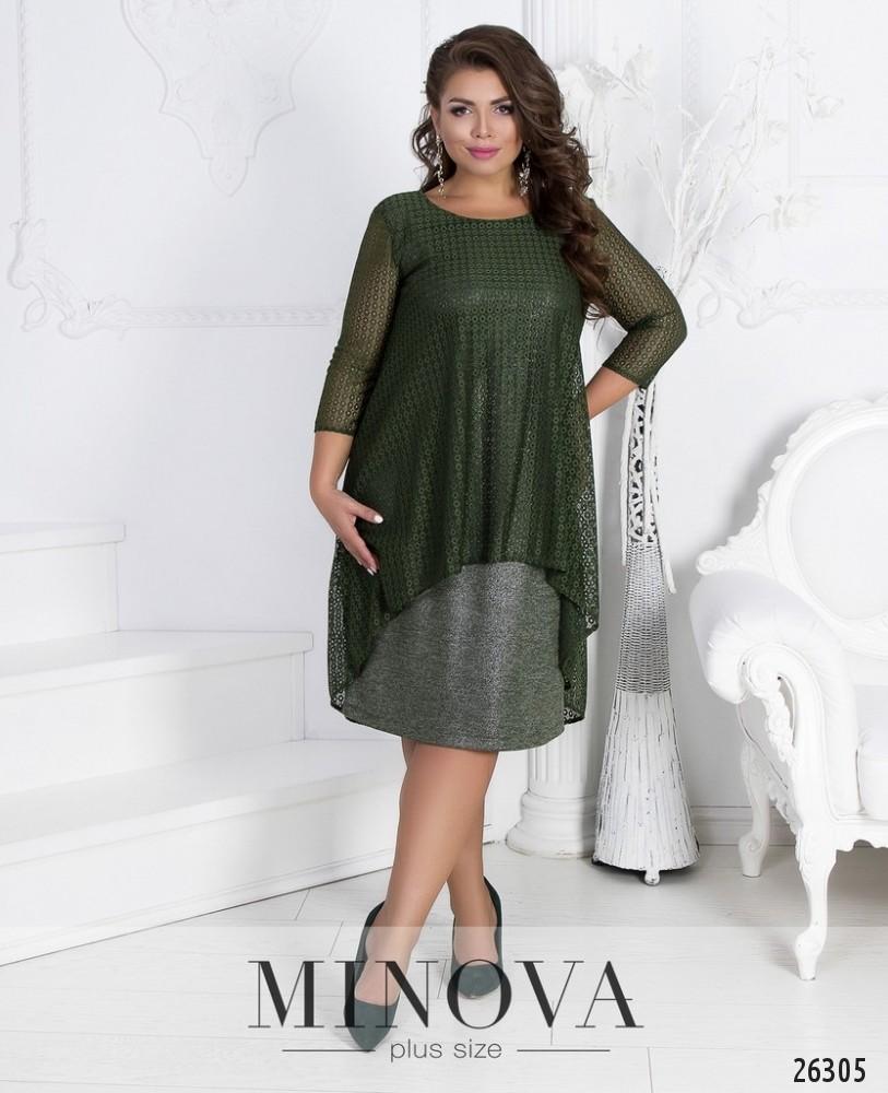 Платье №541-хаки