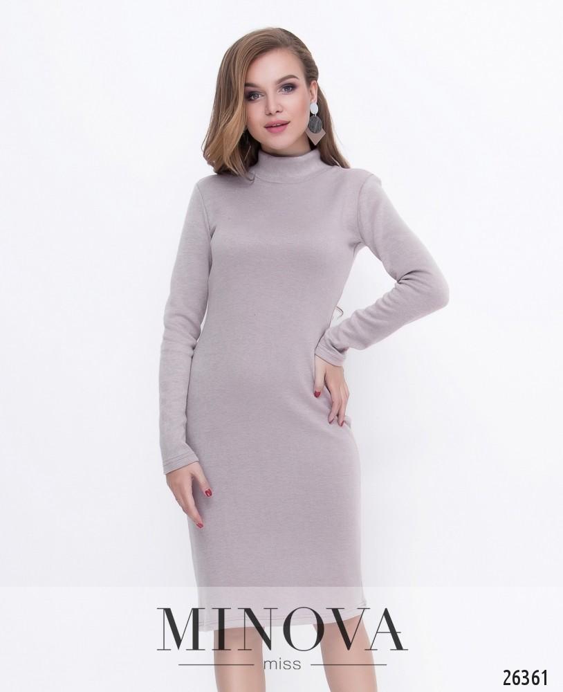 Платье №8591-капучино