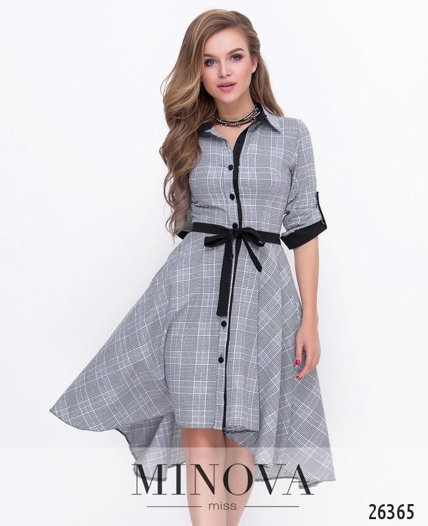 Платье №8592-серый