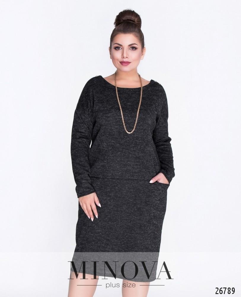 Платье №463А-черный