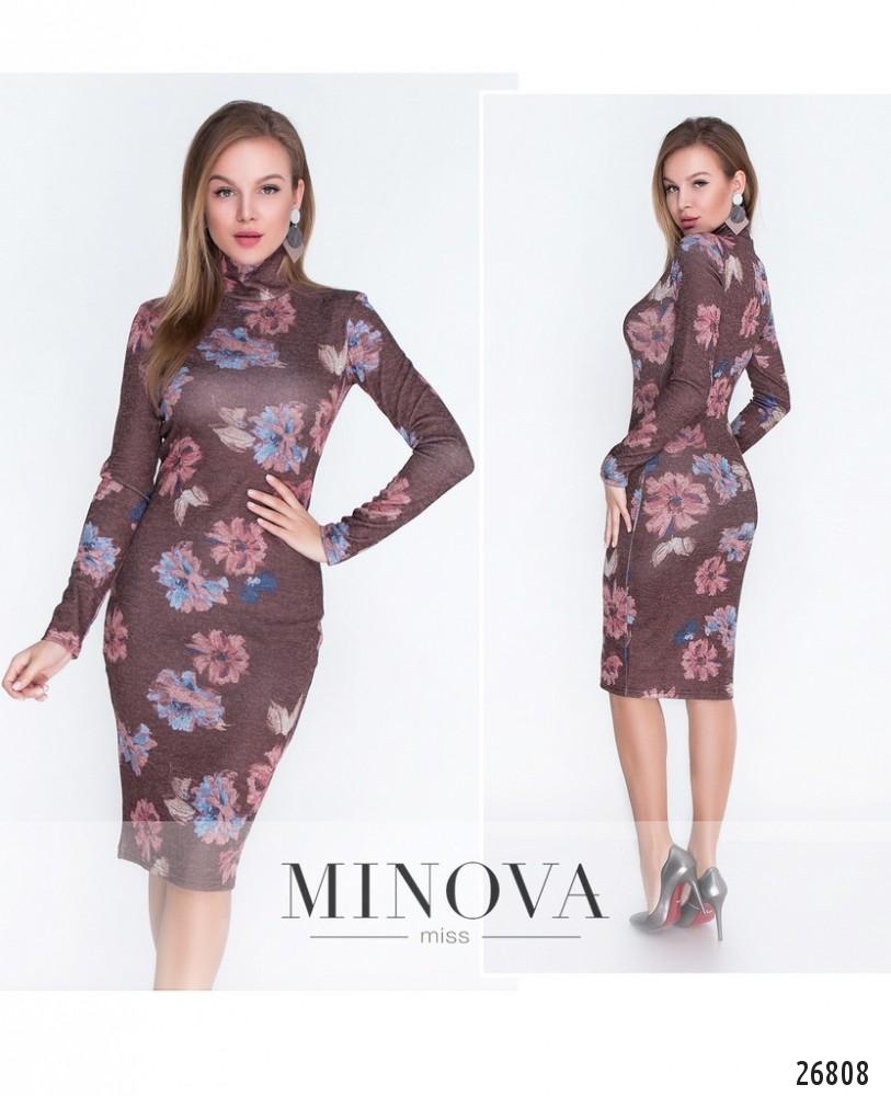 Платье №449-2-бордо (sale)