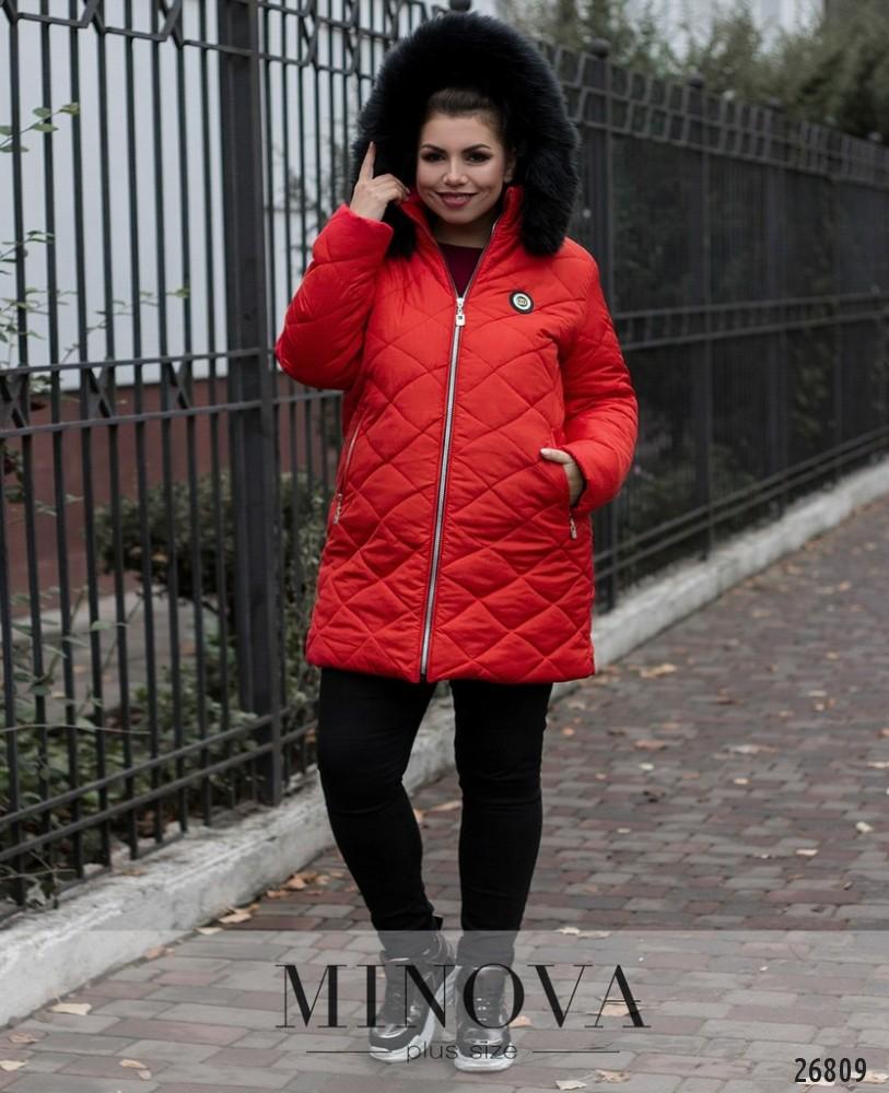 Куртка №715-красный