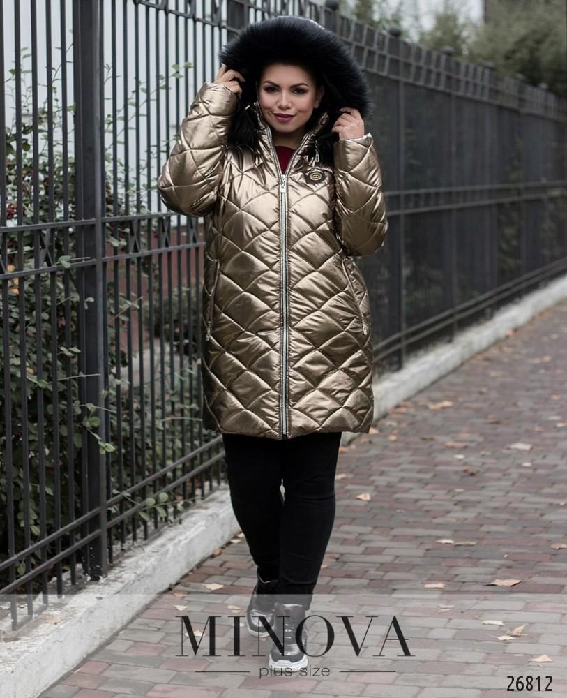 Куртка №715-металлик