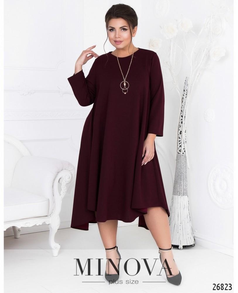 Платье №464А-бордо