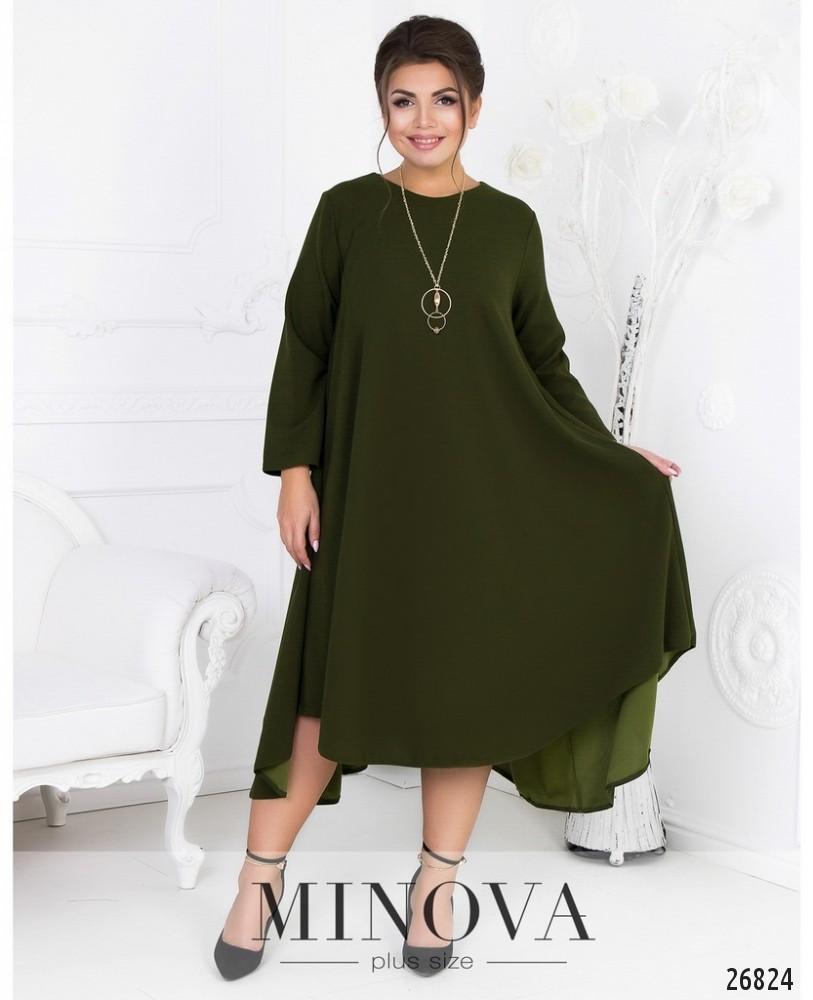 Платье №464А-зеленый