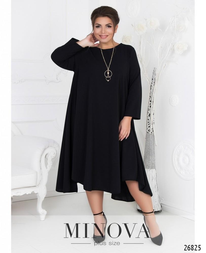Платье №464А-черный