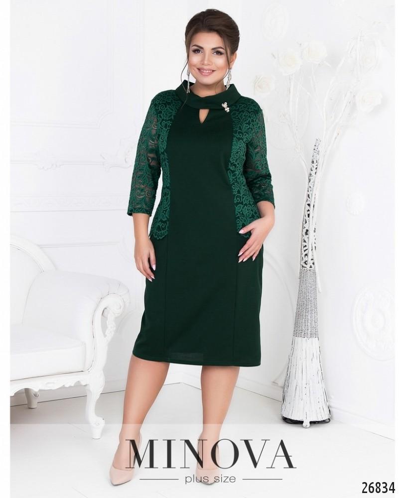 Платье №17-94-зеленый