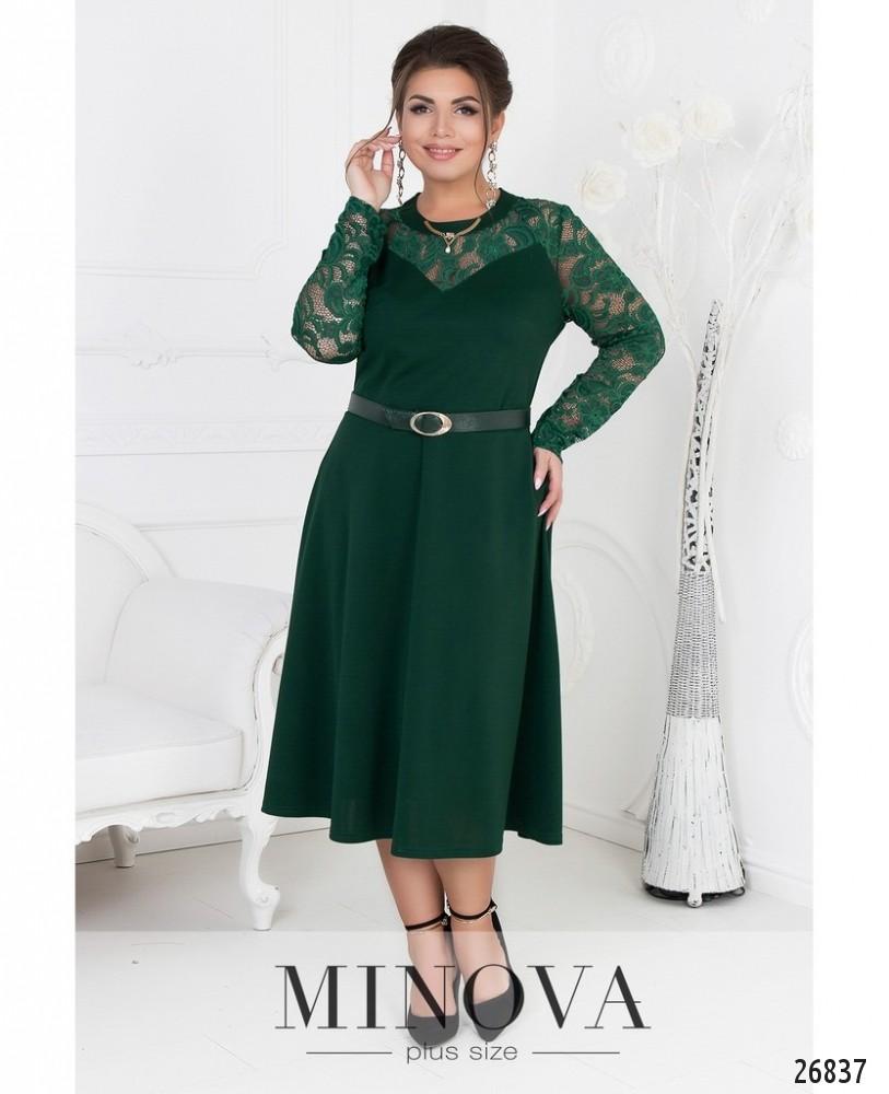 Платье №8-108-зеленый