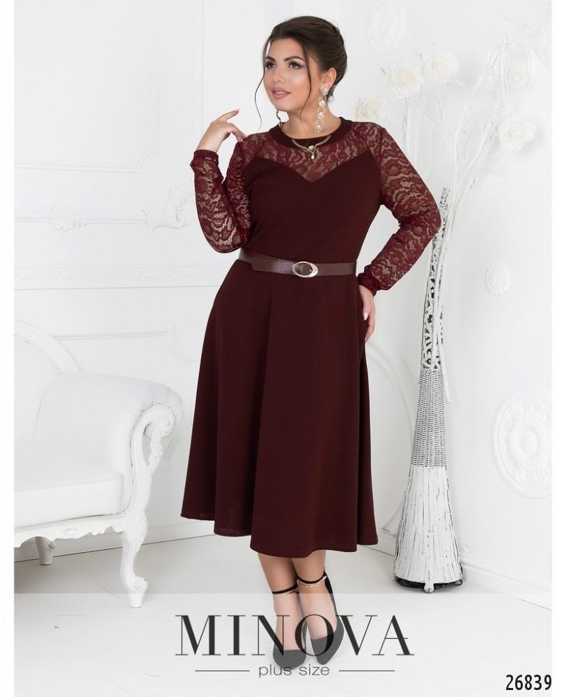 Платье №8-108-бордо