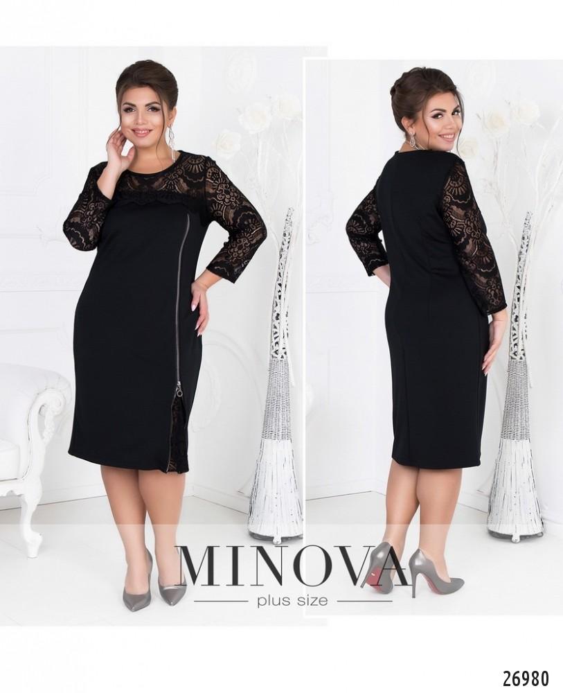 Платье №081-черный