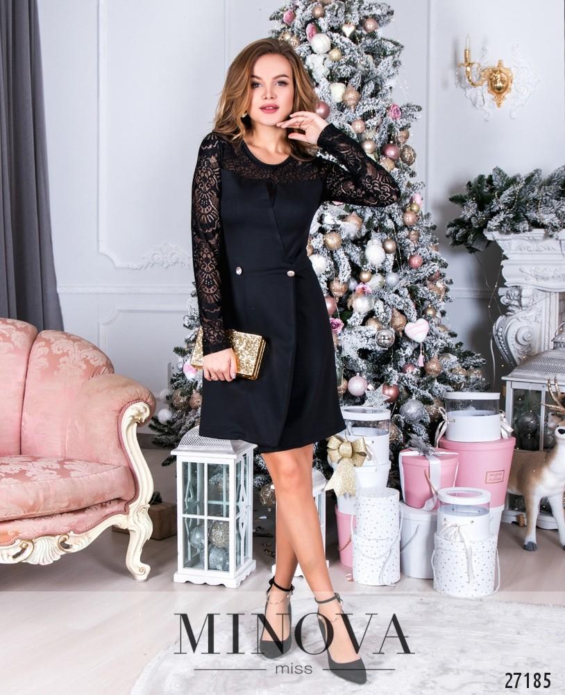 Платье №086-черный