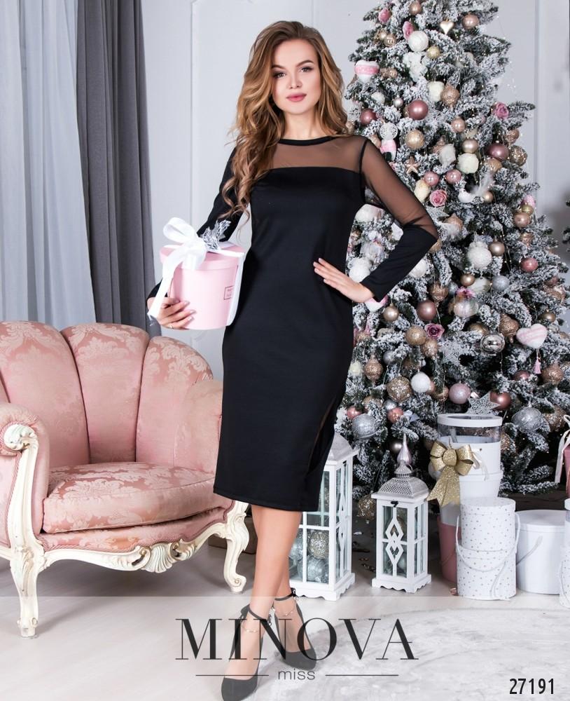 Платье №085-2-черный