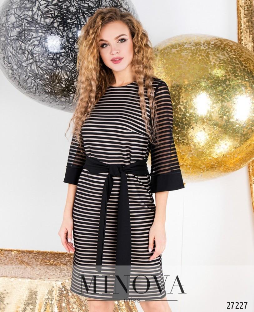 Платье №6126-черный