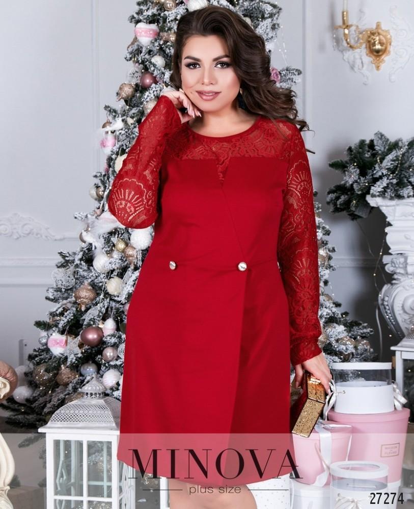 50bade0387d Платье №086Б-красный купить оптом и в розницу от производителя ...