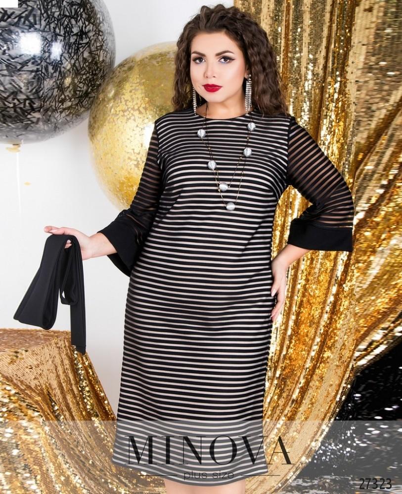 Платье №6126-1-черный