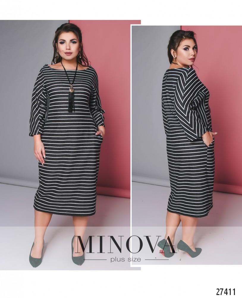 Платье №704-серый (б)