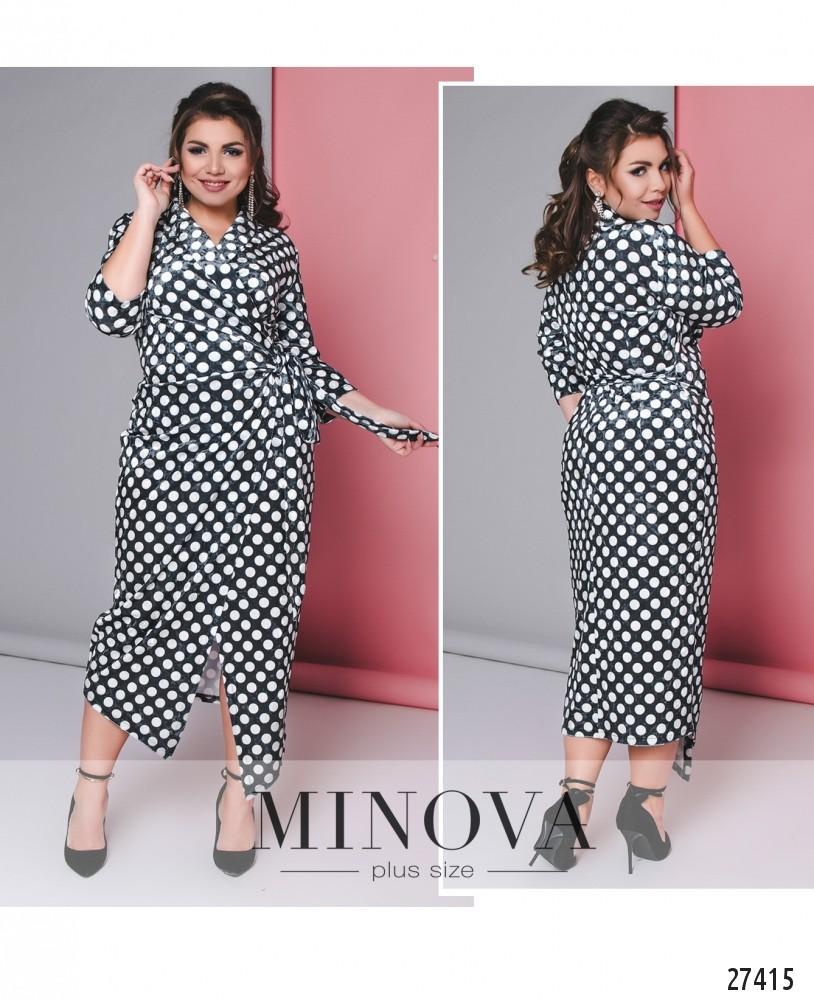 Платье №702-серый (б)