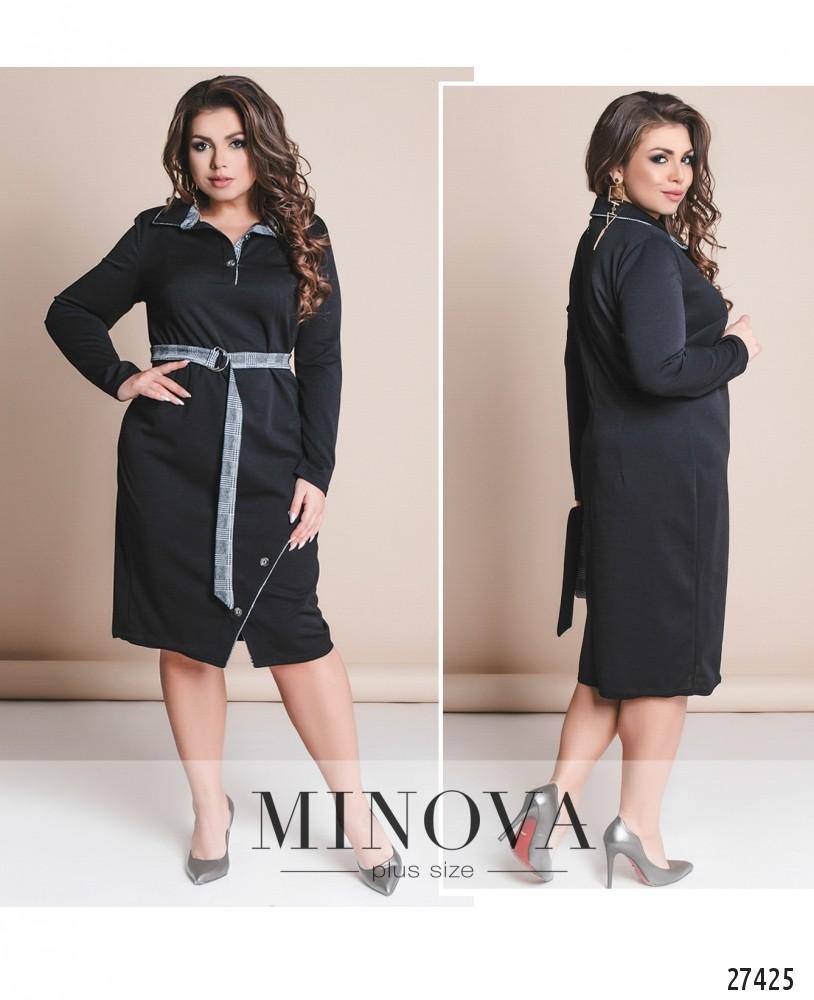 Платье №8-116-черный (б)