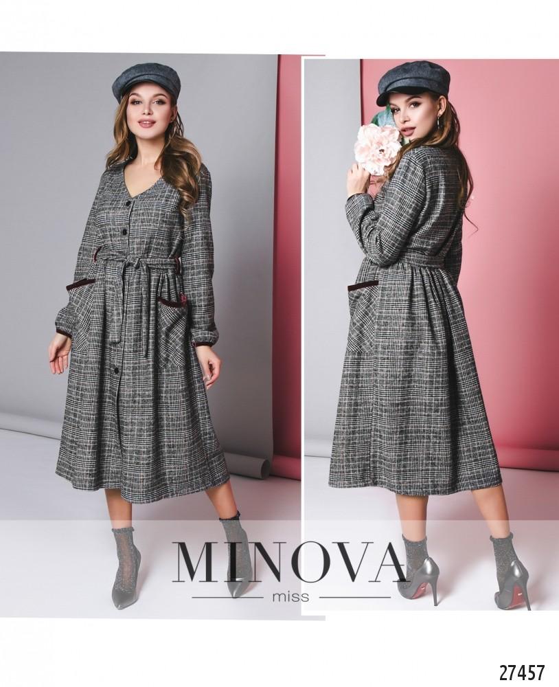 Платье №5140.25-серый