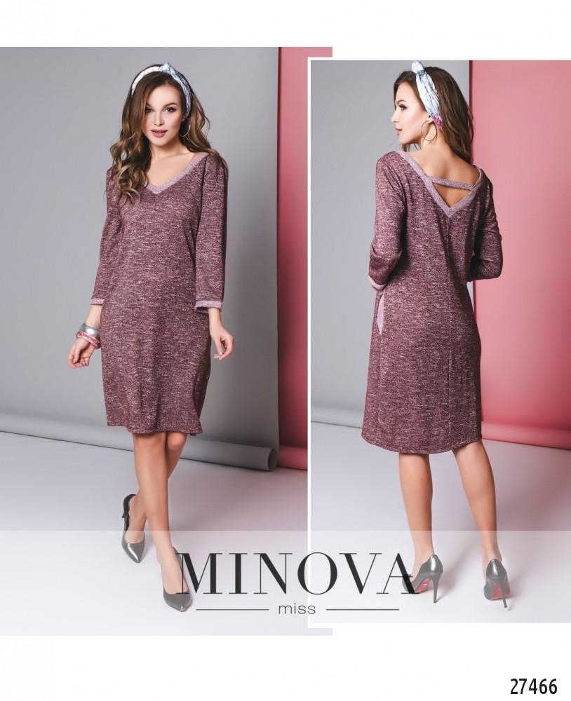 Платье №6136-бордо
