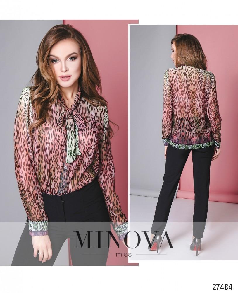Блуза №3085.15-малиновый