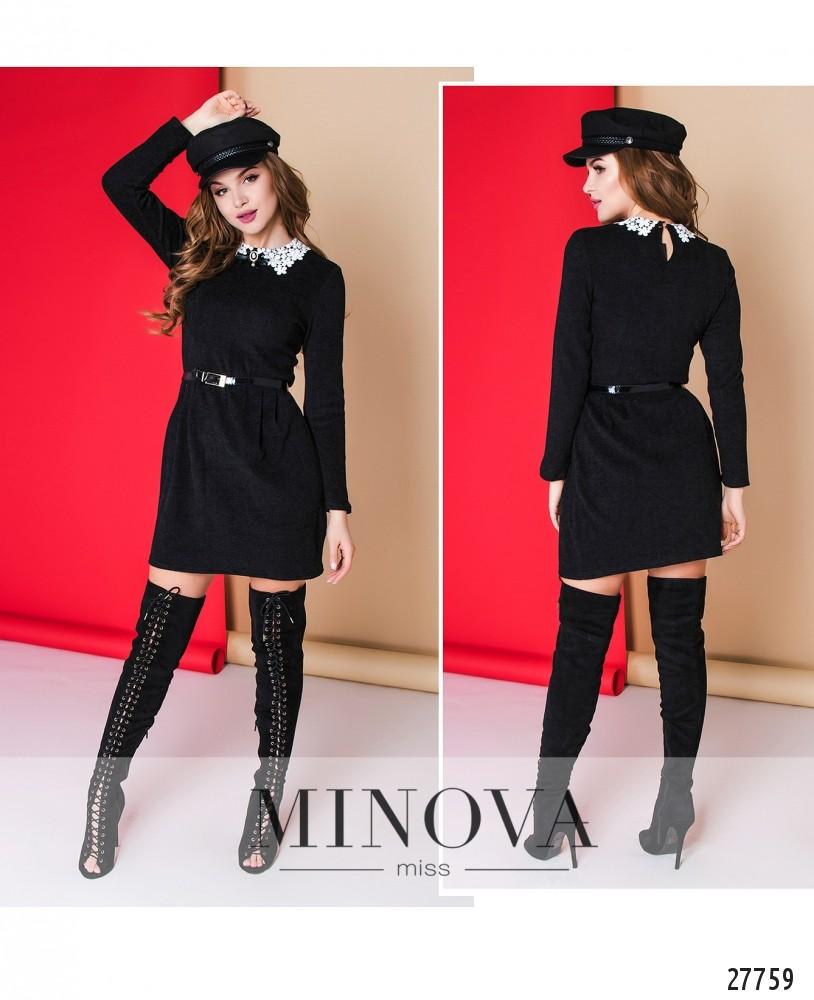 Платье №1001-черный (sale)