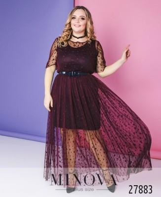 6e1cefd142e5 Женские платья большого размера оптом и в розницу от производителя ...