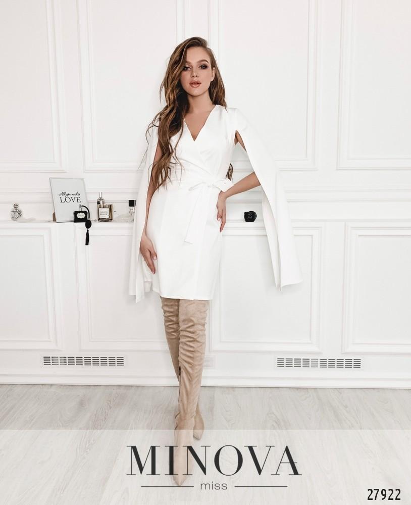 Платье №1258-белый