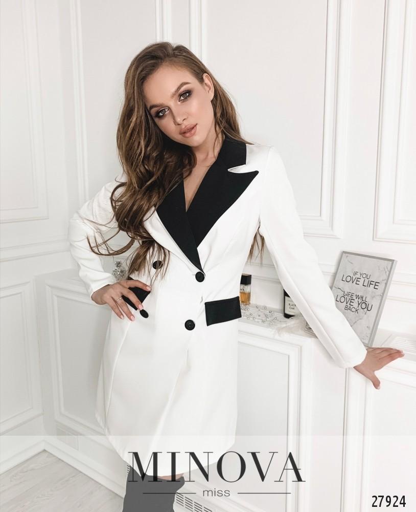 Платье №1259-белый