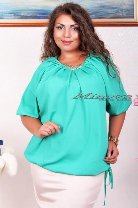 Модные блузки большого размера доставка