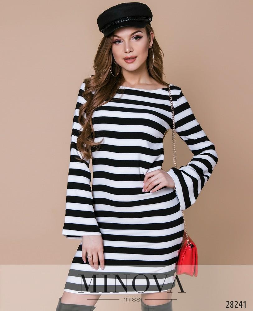 Платье №5006.17-полоска