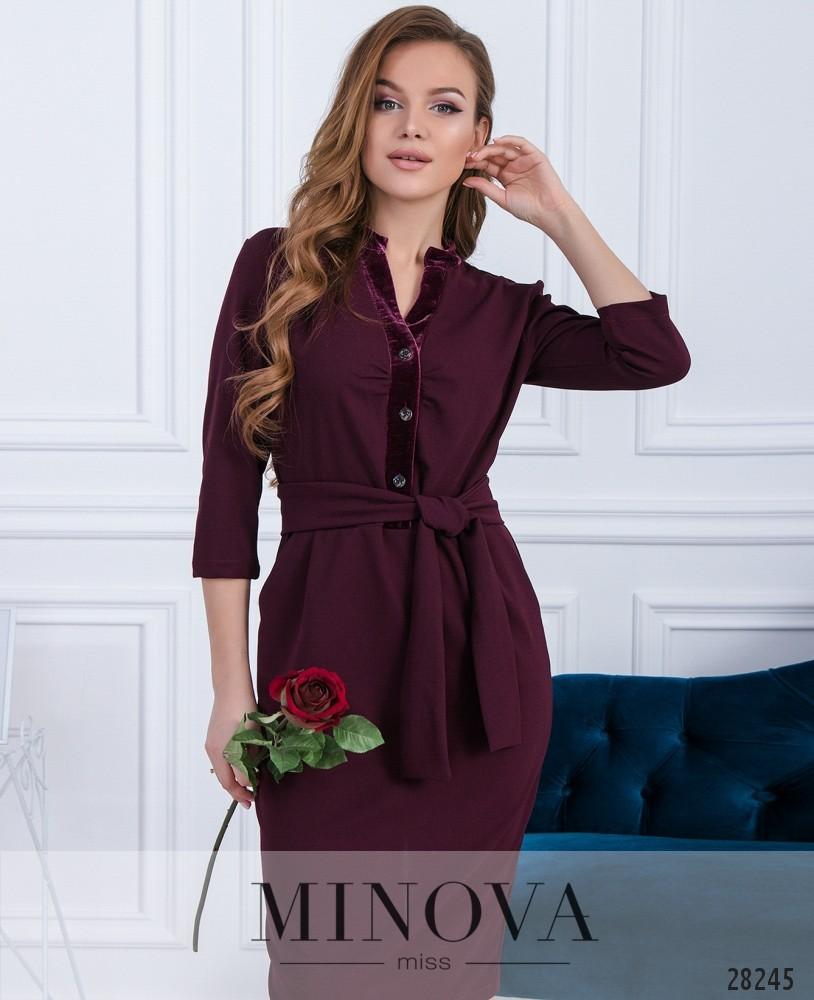 Платье №5145.20-бордо