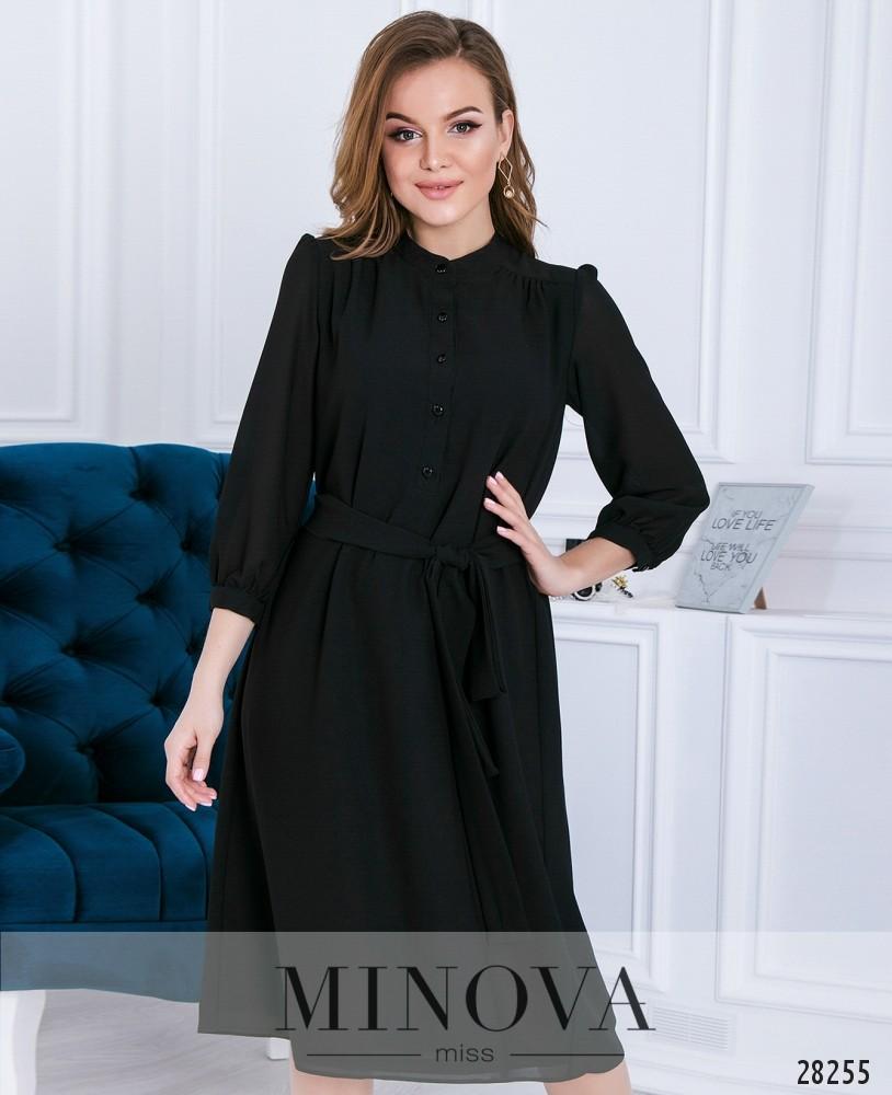 Платье №3113-черный