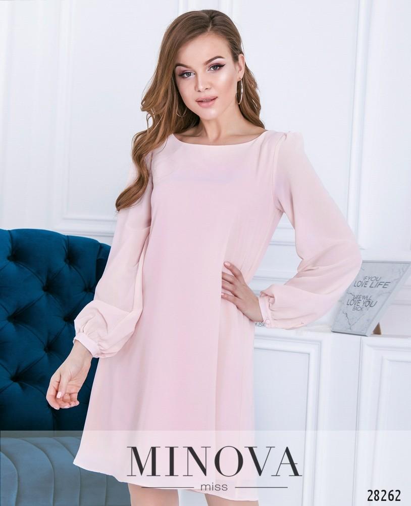 Платье №3110-пудра