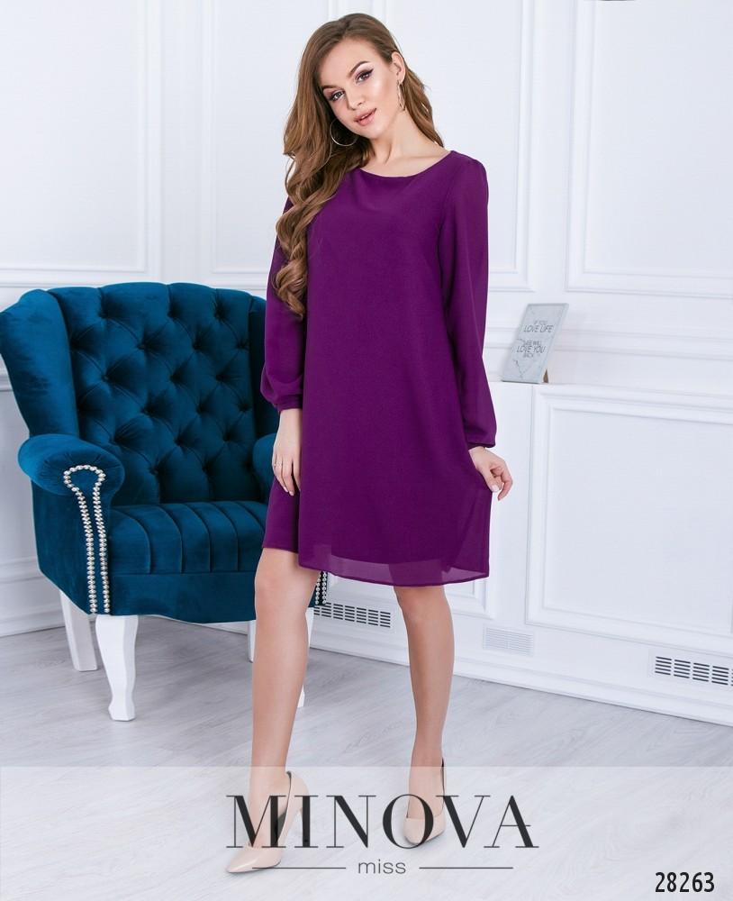Платье №3110-ягодный