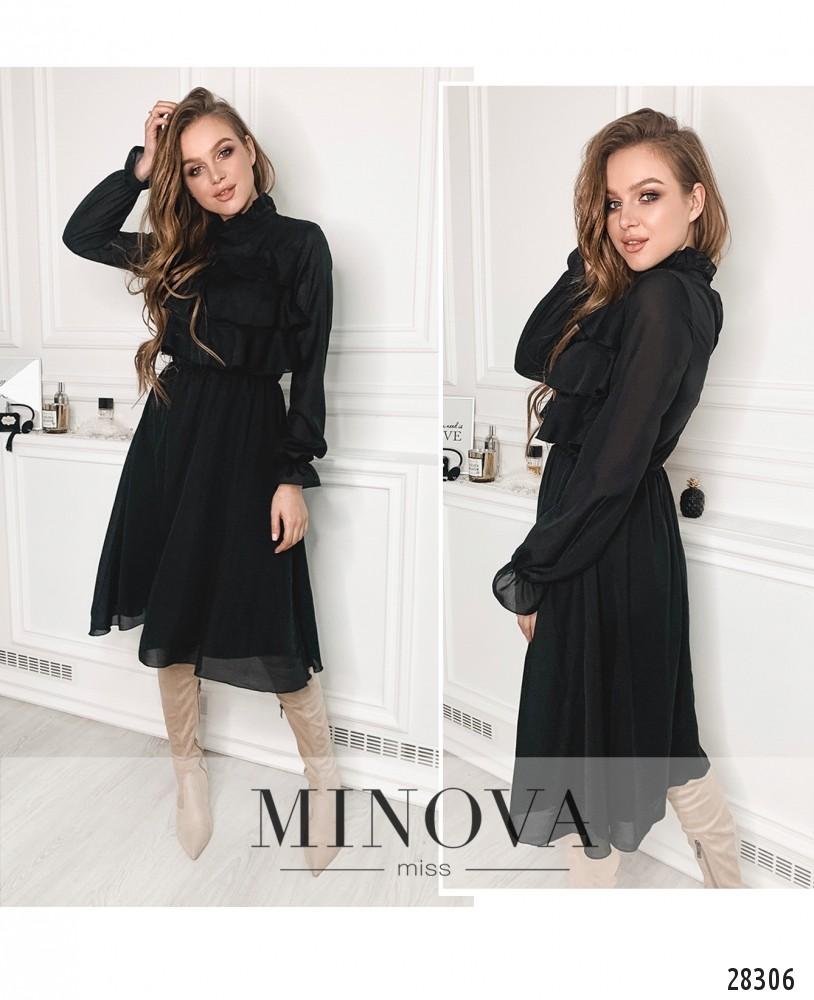 Платье №5137.20-черный