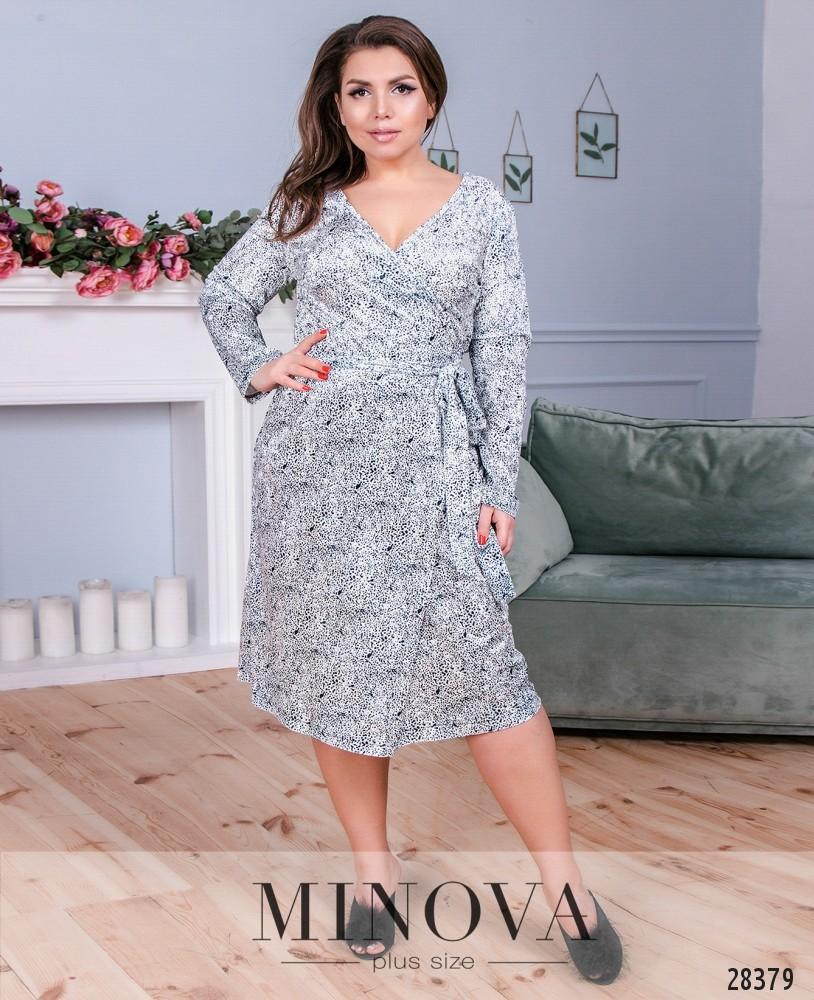 Платье №834-белый