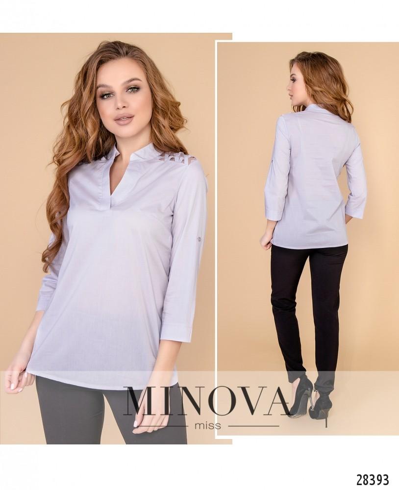 Блуза №4100-лавандовый