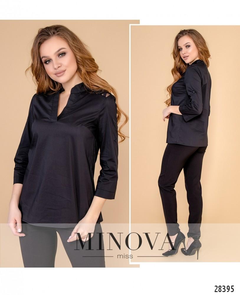 Блуза №4100-черный