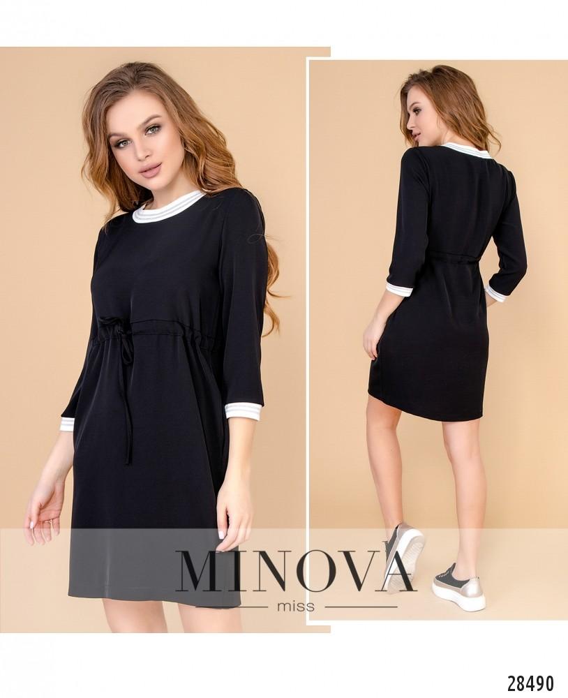 Платье №1055-черный