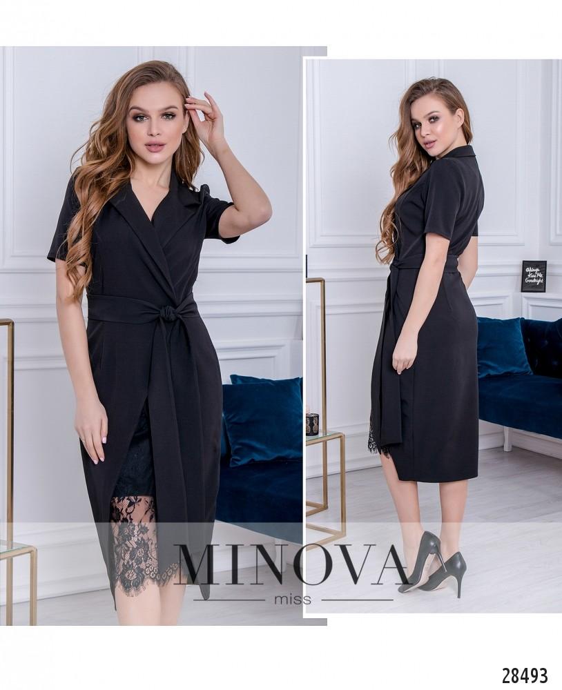 Платье №3016-черный