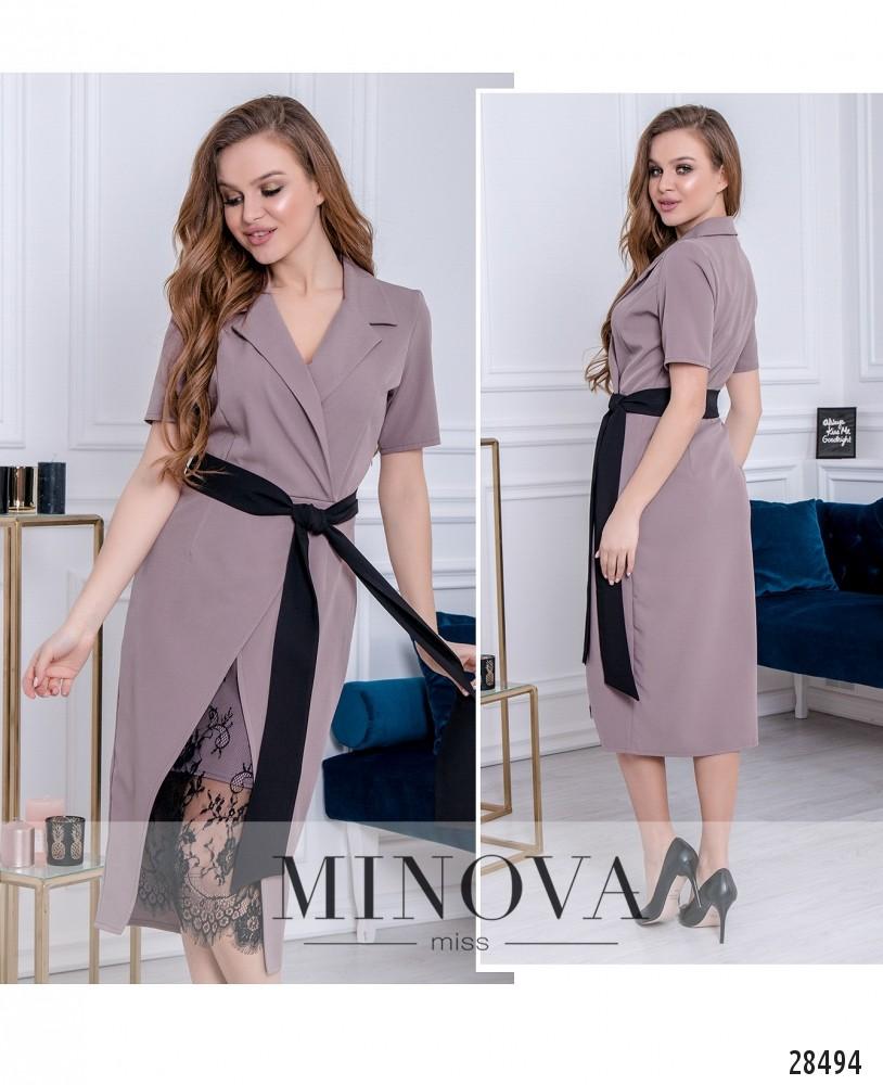 Платье №3016-капучино