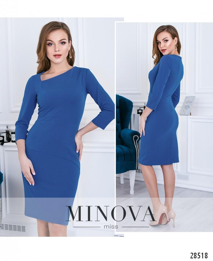 Платье №3115-джинс