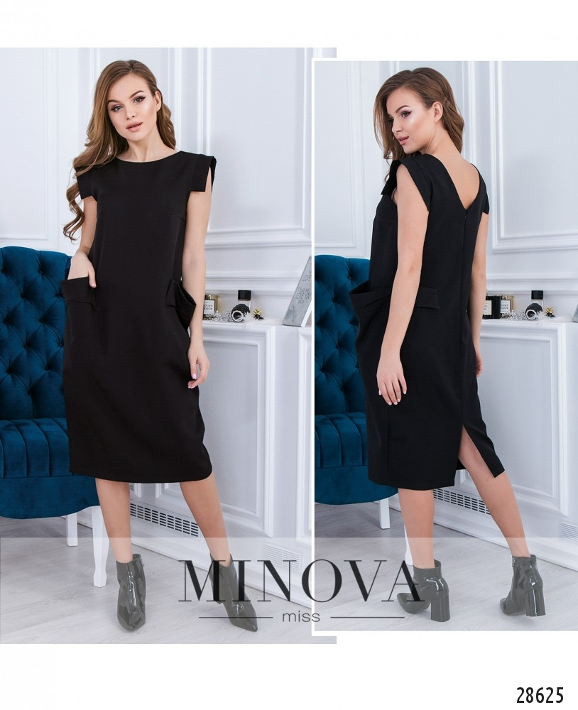 Платье №5085.24-черный