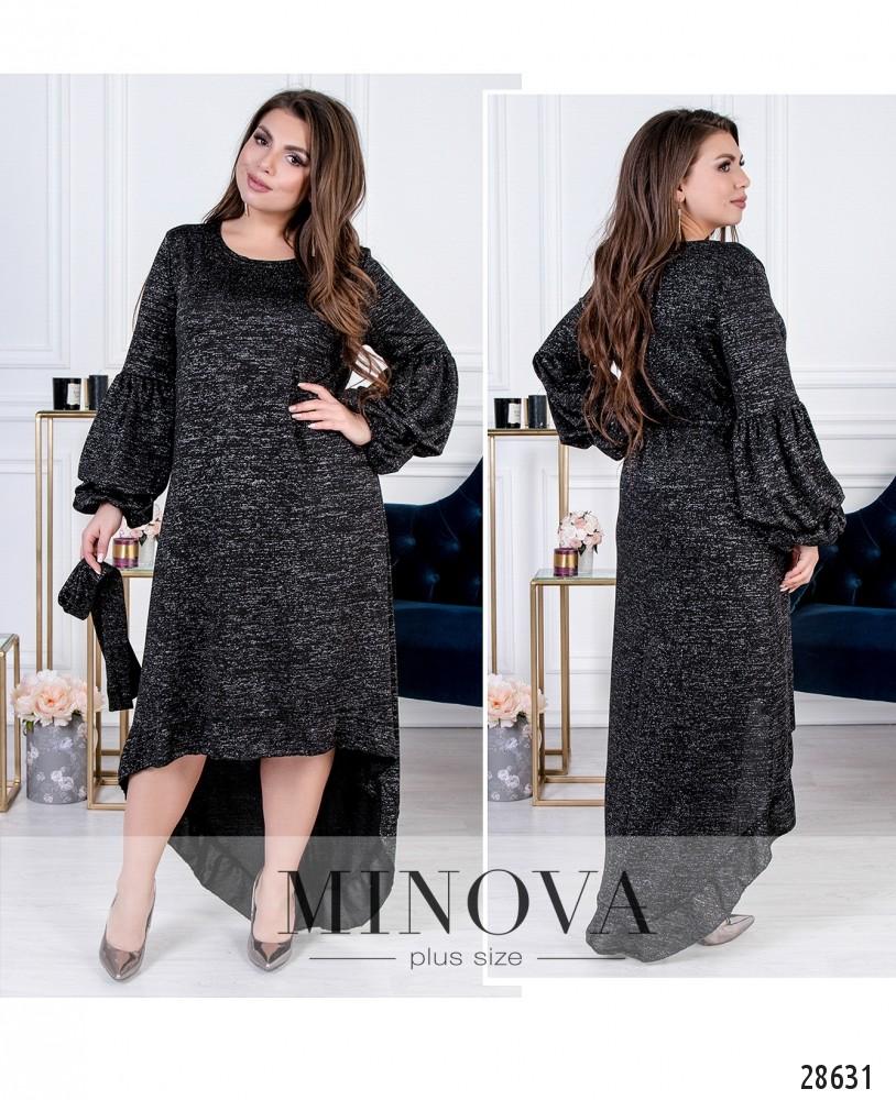 Платье №41202-черный