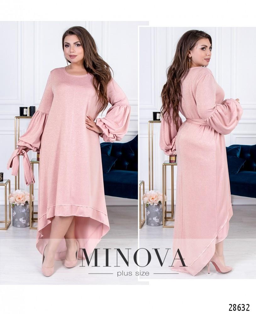 Платье №41202-розовый