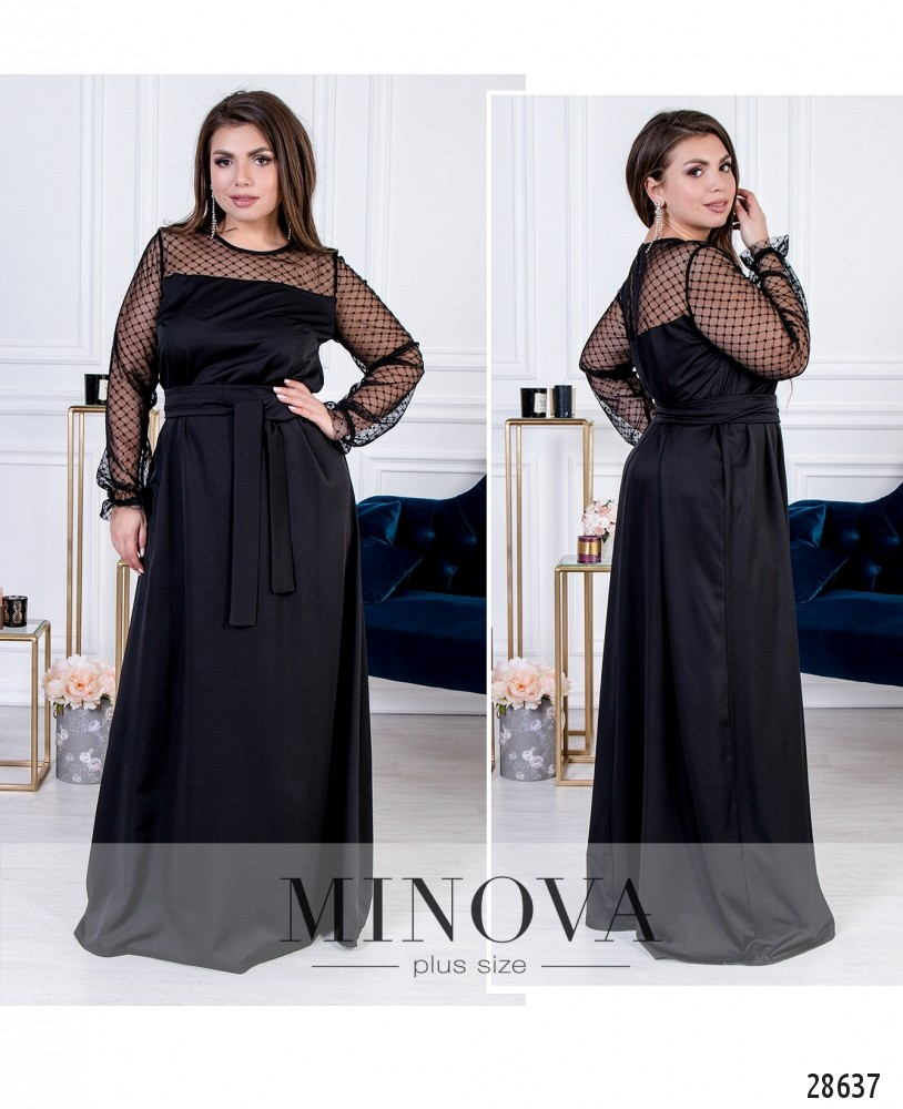 Платье №15140-черный