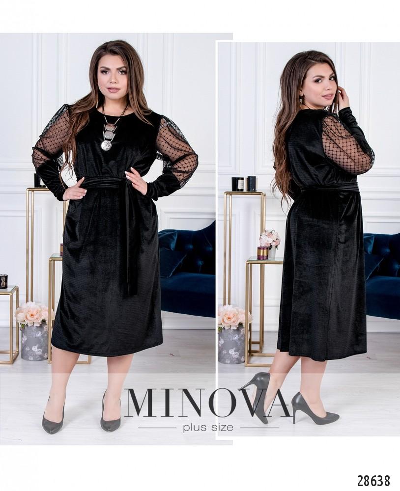 Платье №15149-черный