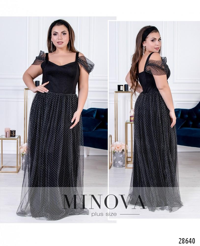 Платье №41192-черный